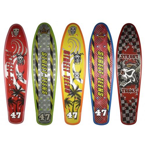 Скейтборд пластиковый Treck фото