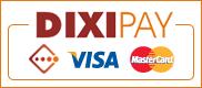 Оплата пластиковыми картами VISA, MasterCard