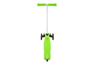 Зеленый самокат ECOLINE AIR сзади