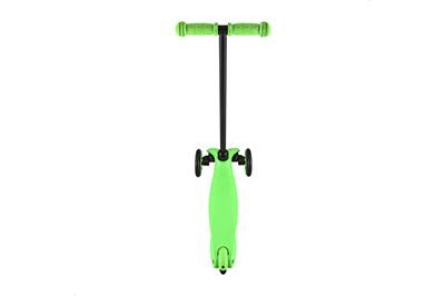 Зеленый самокат Мини сзади