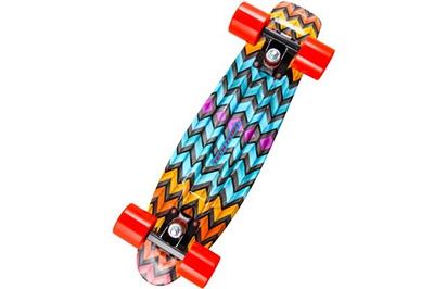Разноцветный скейт