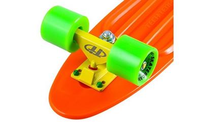 Оранжевый скейт
