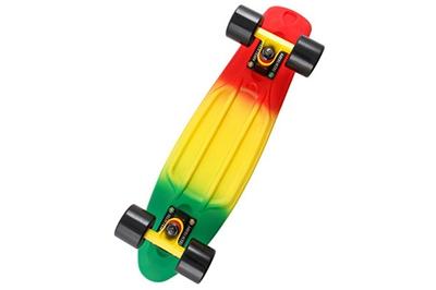 Трехцветный скейтборд мальчику