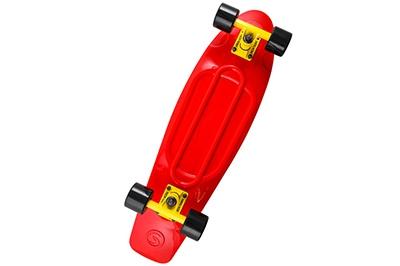 Ярко красный скейтборд