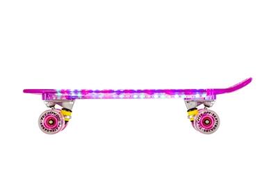 Светящийся детский скейт