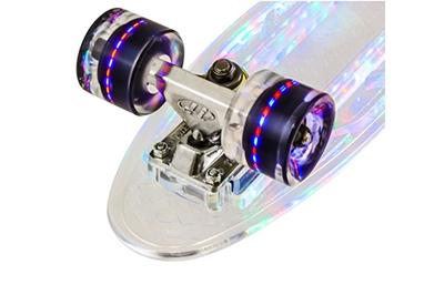 Разноцветная подсветка колес круизера