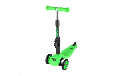Зеленый самокатSky Scooter