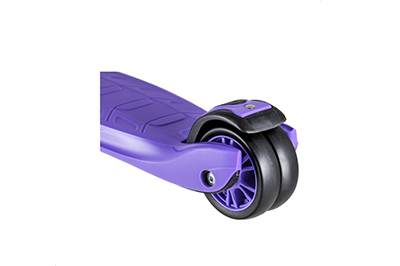 Самокат Тигр Про фиолетовый фото
